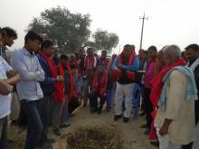मेयर श्री नितेन्द्र प्रसाद साह तेली ज्यु ले शिलान्यास कार्यक्रम मा सहभागी भइ