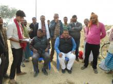 मेयर श्री नितेन्द्र प्रसाद साह तेली ज्यु तथा पूर्व गा.बि.स. अध्यक्ष श्री राजदेव प्रसाद यादव ले शिलान्यास कार्यक्रम मा सहभागी भइ